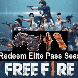 Kode Redeem FF Elite Pass Season 26