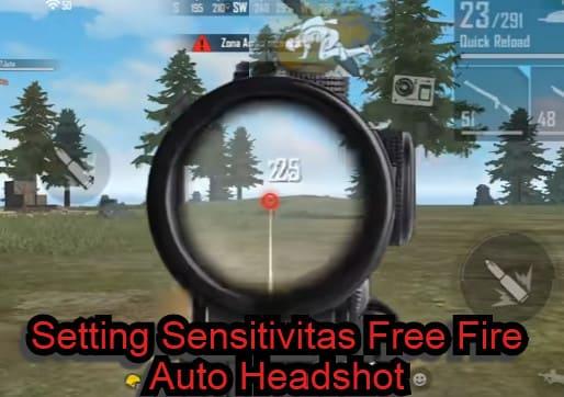 Sensitivitas Free Fire