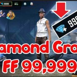 Diamond Gratis FF 99,999