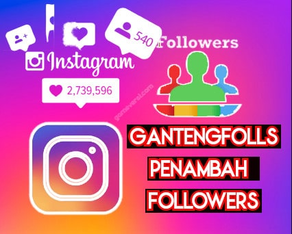 gantengfolls penambah followers