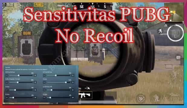 Sensitivitas PUBG No Recoil