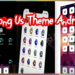 Among Us Theme Android