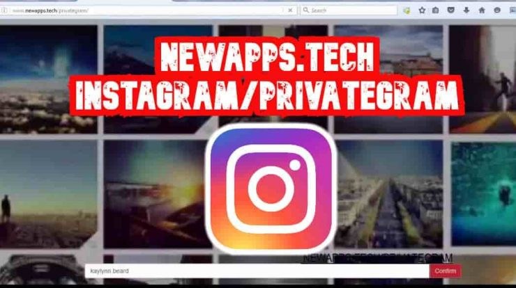Newapps.tech Instagram/privategram