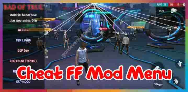 cheat ff mod menu