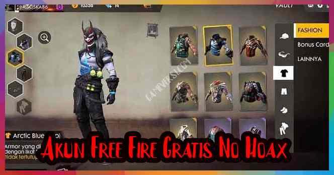 Akun Free Fire Gratis No Hoax
